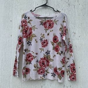 Joie White Cashmere Gypsy Rose Sweater XS
